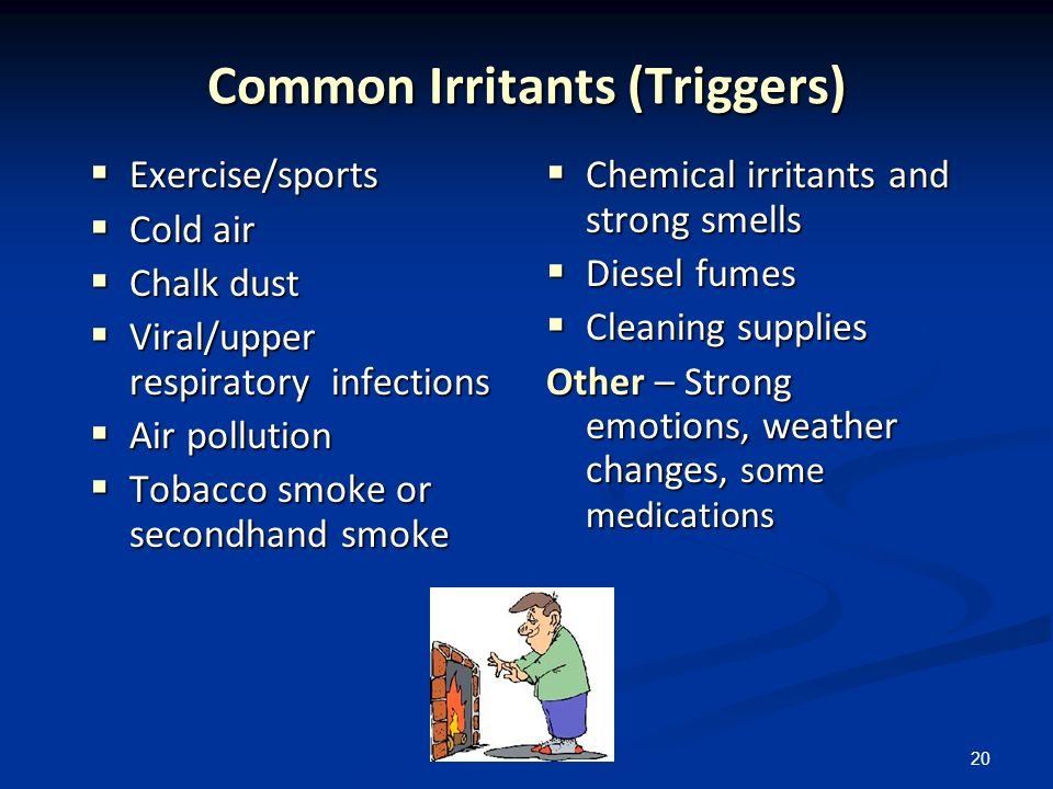 Common Irritants (Triggers)