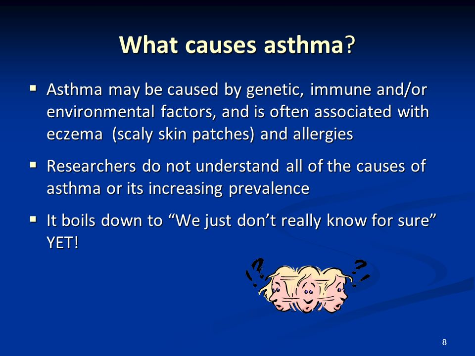 What causes asthma