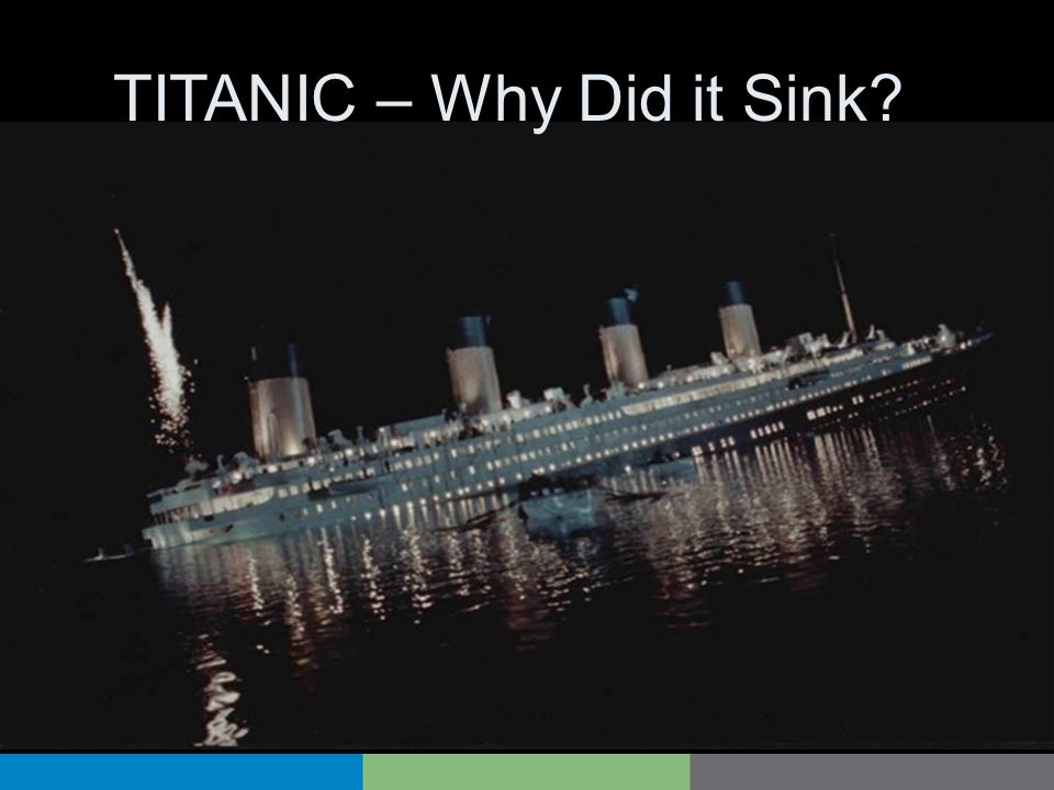 TITANIC – Why Did it Sink