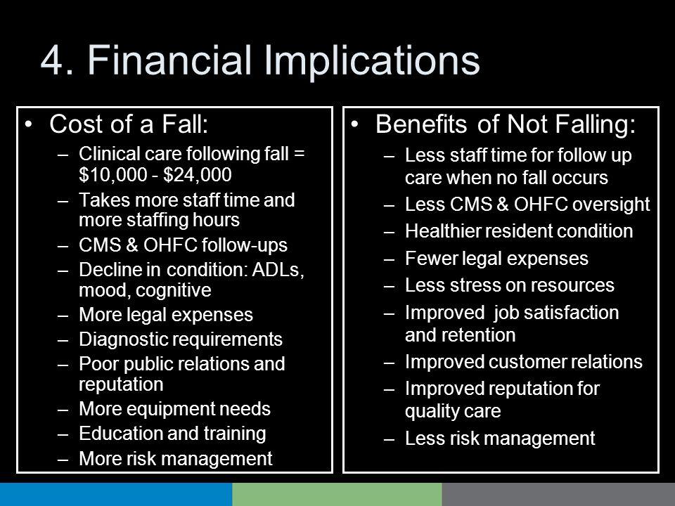 4. Financial Implications