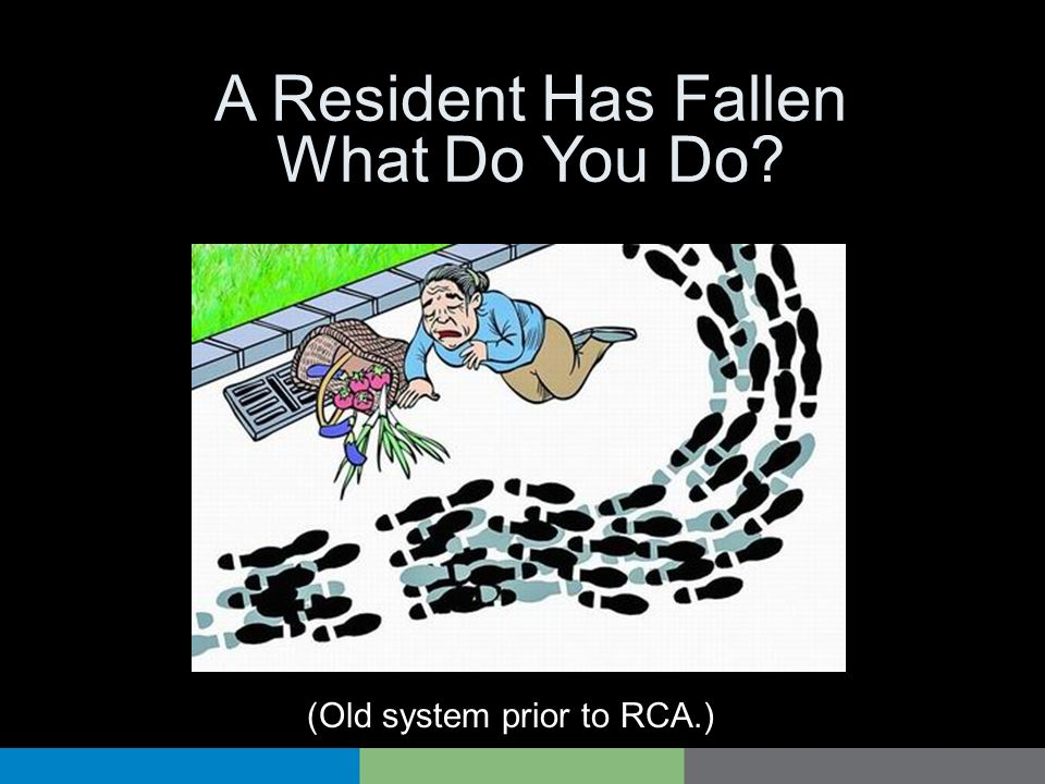 A Resident Has Fallen What Do You Do