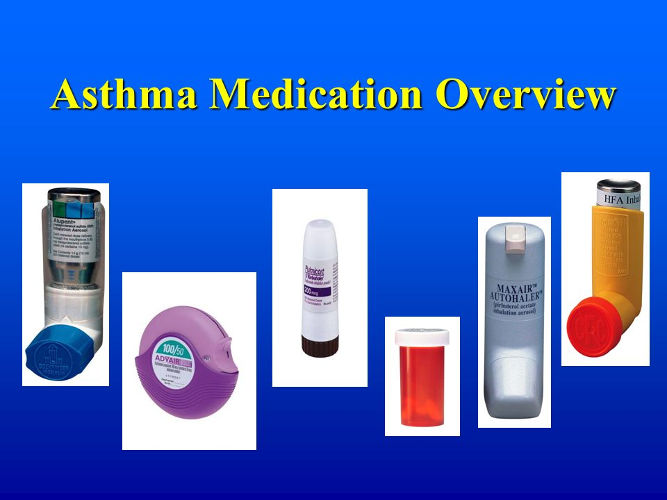 Asthma Medication Overview
