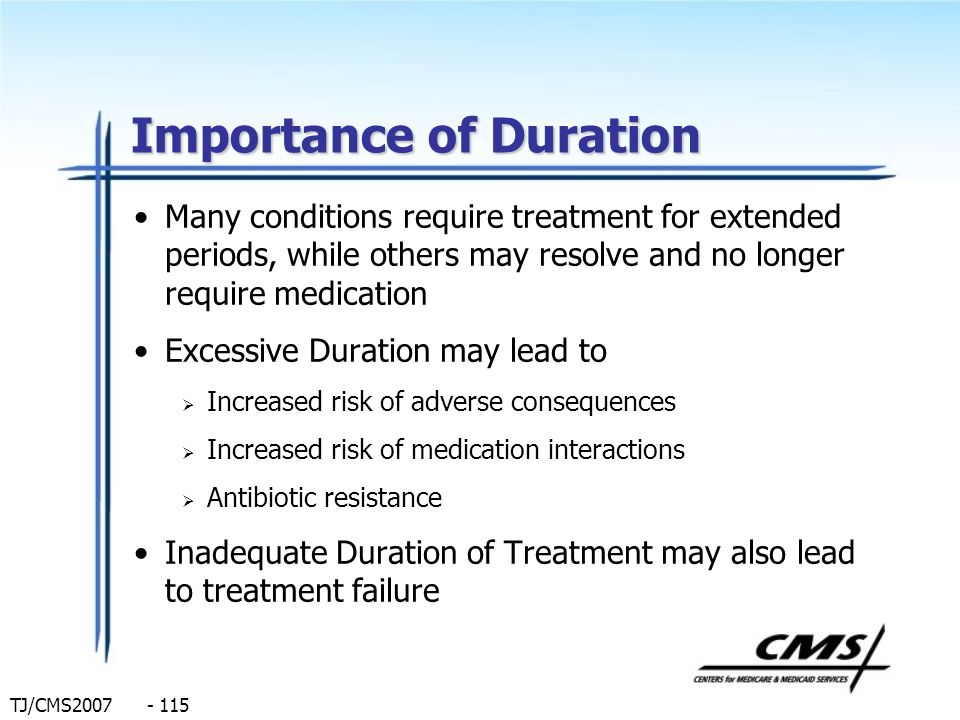 Importance of Duration