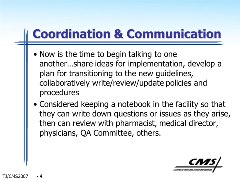 Coordination & Communication