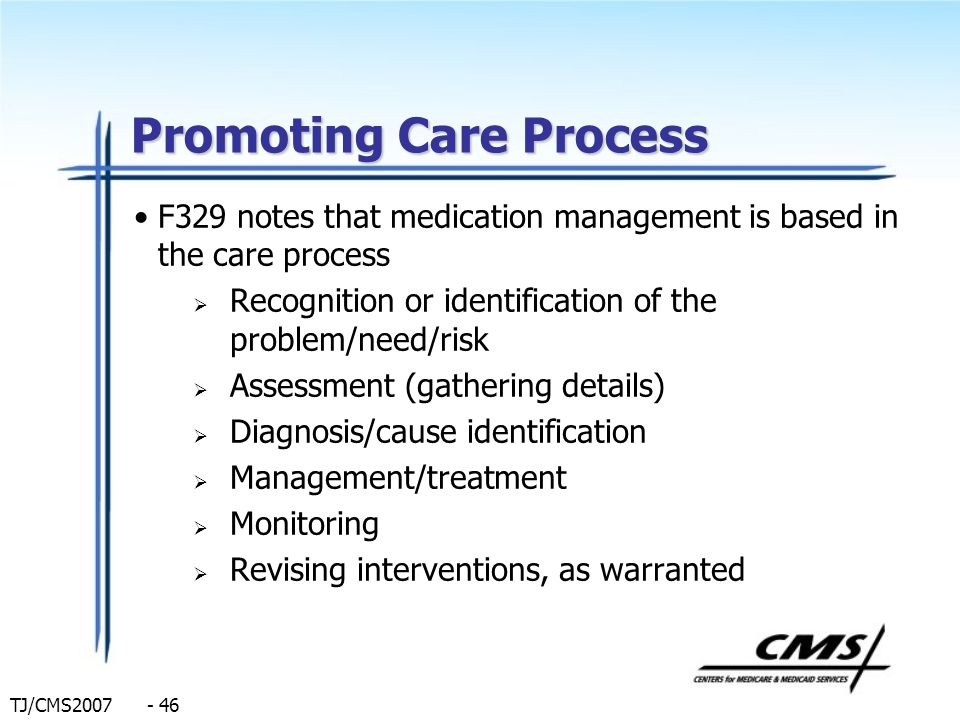 Promoting Care Process