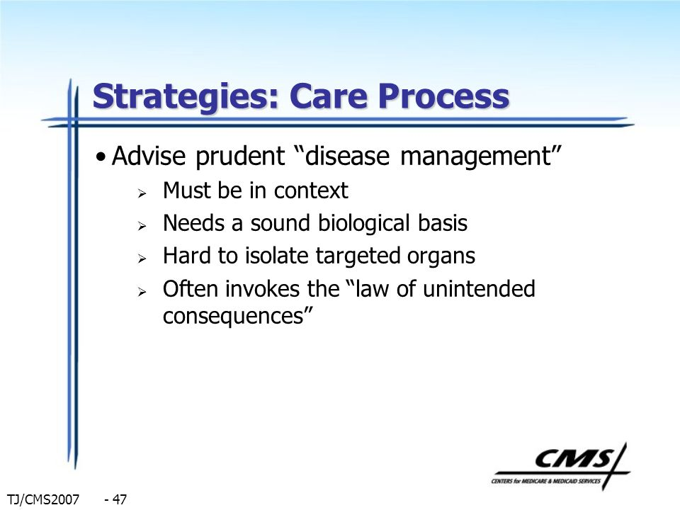 Strategies: Care Process
