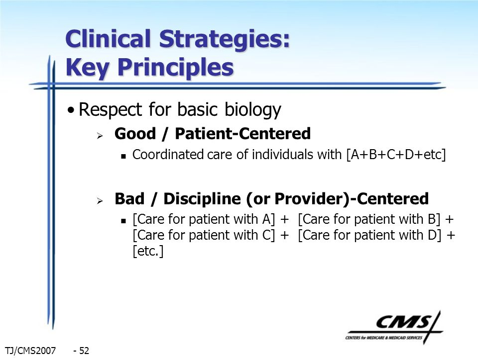 Clinical Strategies: Key Principles