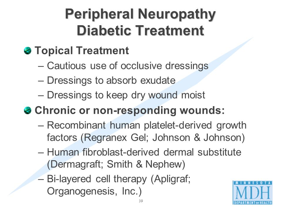 Peripheral Neuropathy Diabetic Treatment