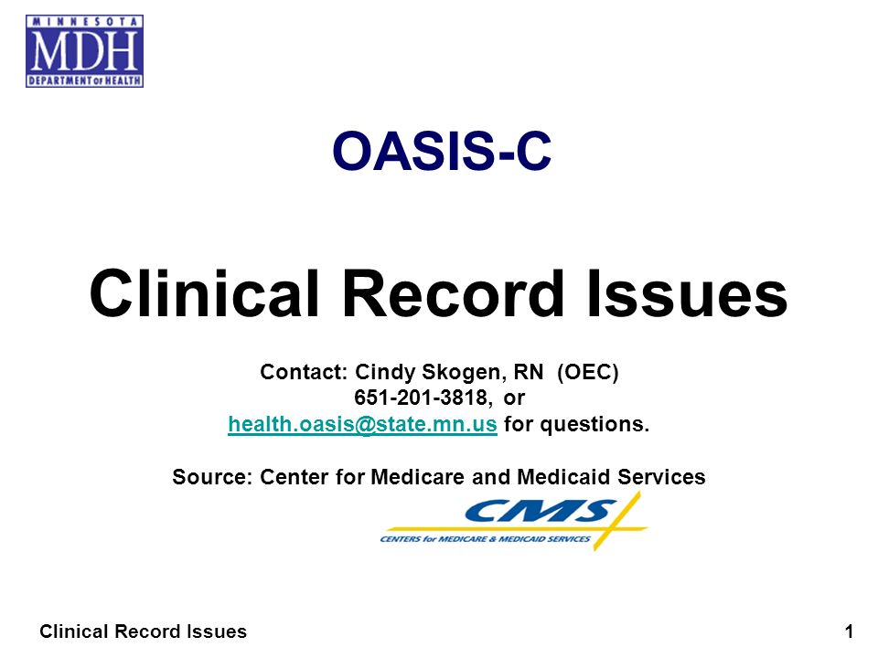 Clinical Record Issues