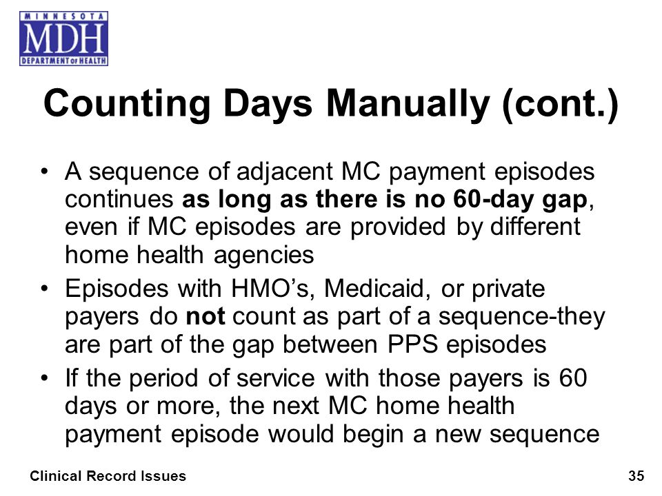 Counting Days Manually (cont.)