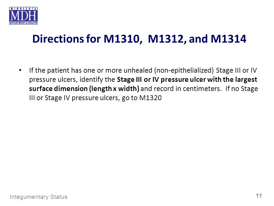 Directions for M1310, M1312, and M1314