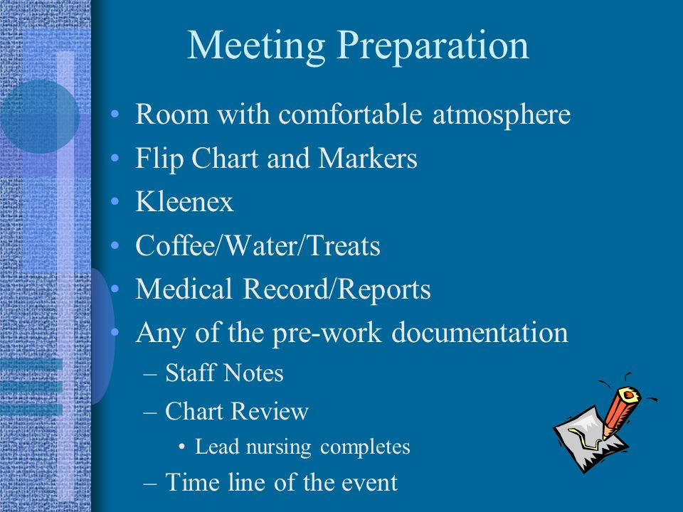 Meeting Preparation Room with comfortable atmosphere