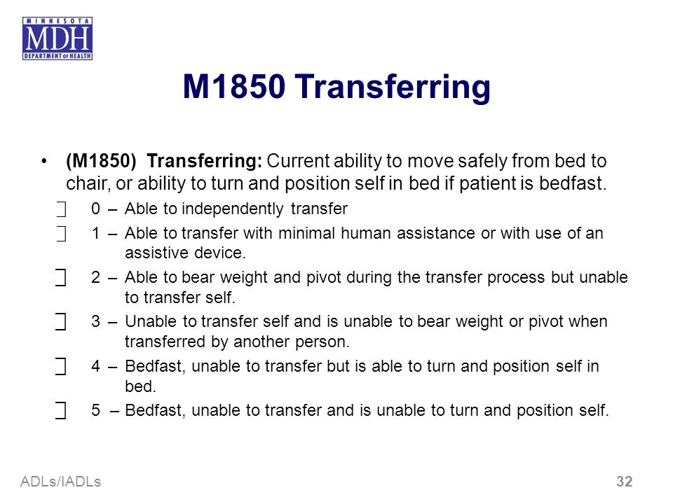 M1850 Transferring