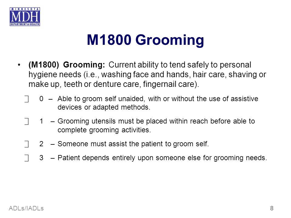 M1800 Grooming