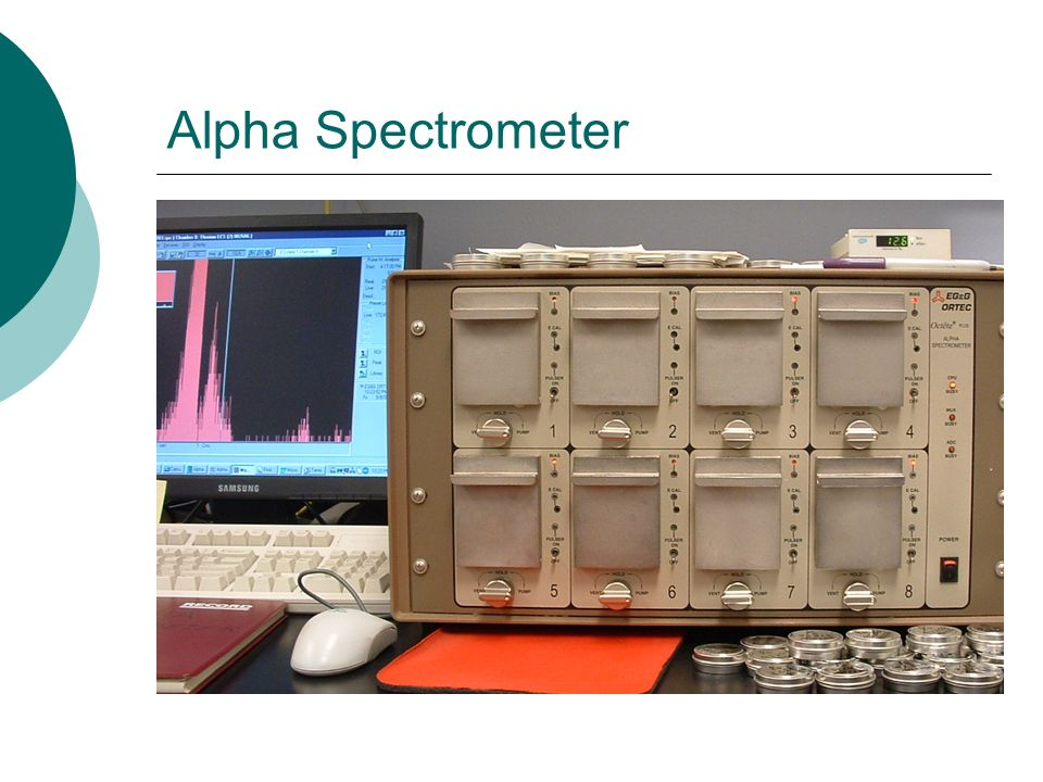 Alpha Spectrometer