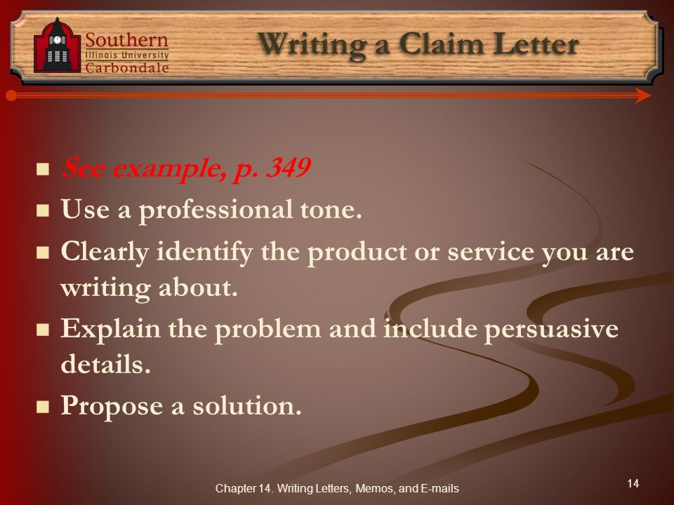 Writing Letters Memos and E mails Business Correspondence