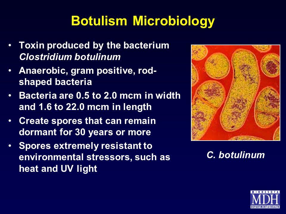 Botulism Microbiology