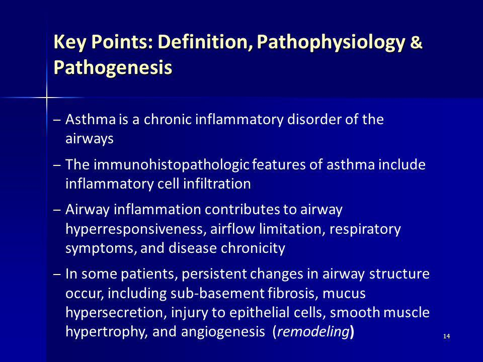 Key Points: Definition, Pathophysiology & Pathogenesis