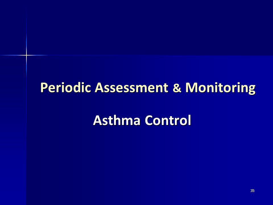Periodic Assessment & Monitoring