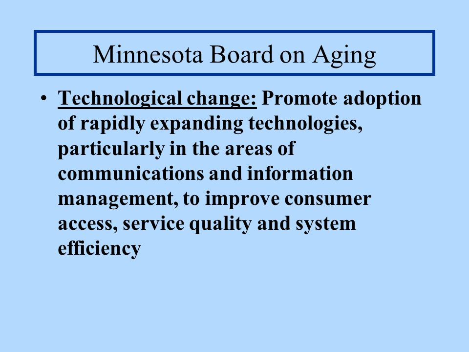 Minnesota Board on Aging