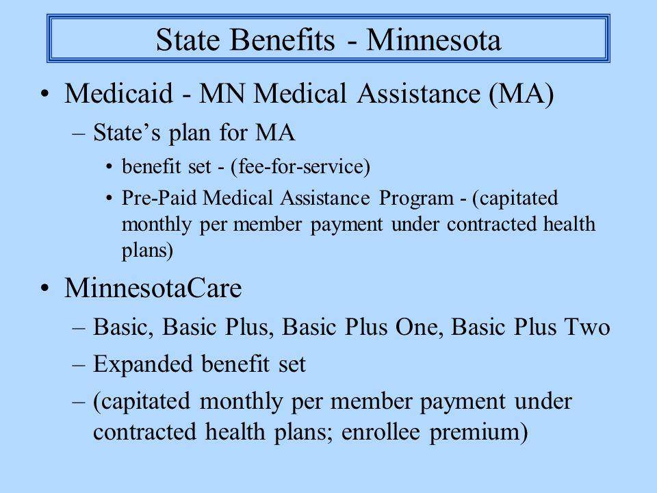 State Benefits - Minnesota