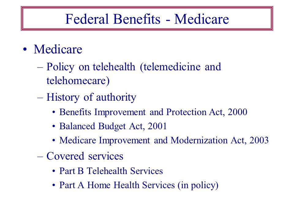 Federal Benefits - Medicare