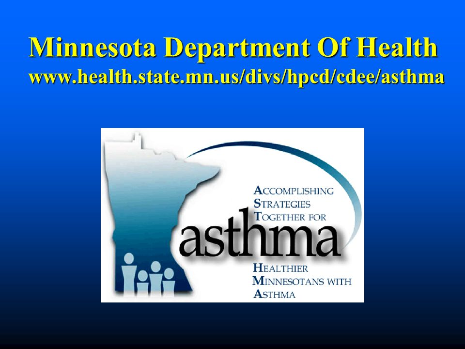 Minnesota Department Of Health www. health. state. mn