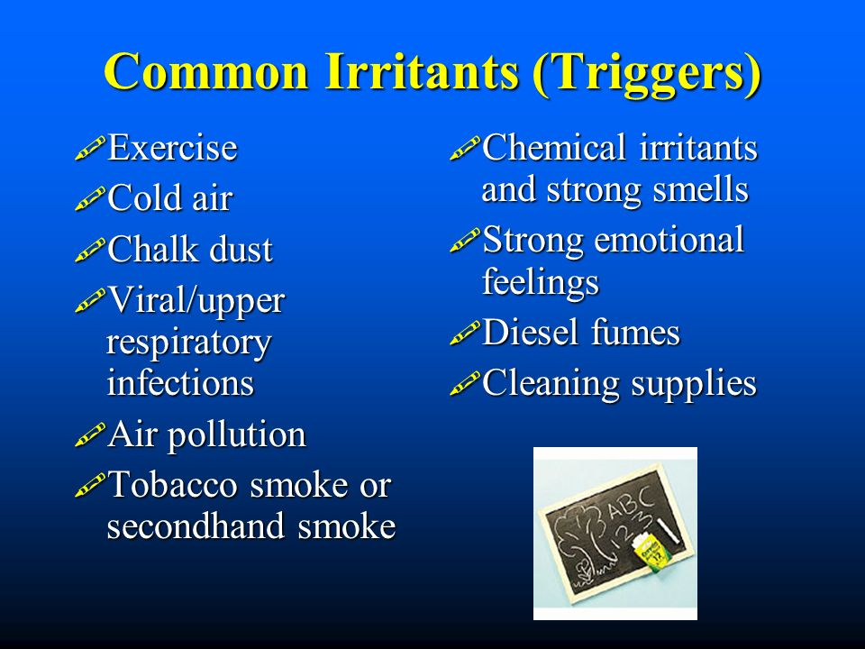 Common Irritants (Triggers)