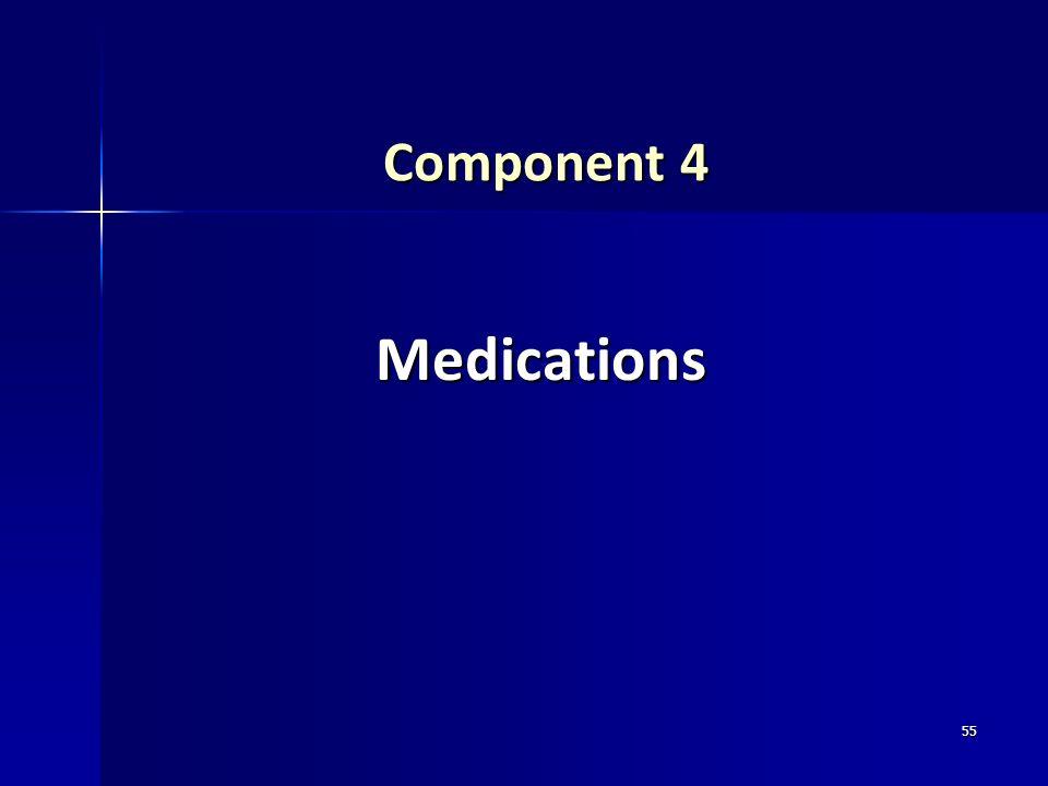 Component 4 Medications