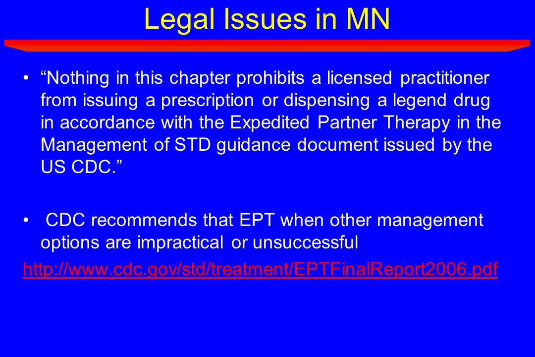 Legal Issues in MN