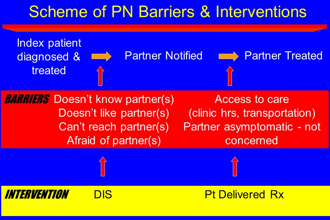 Scheme of PN Barriers & Interventions