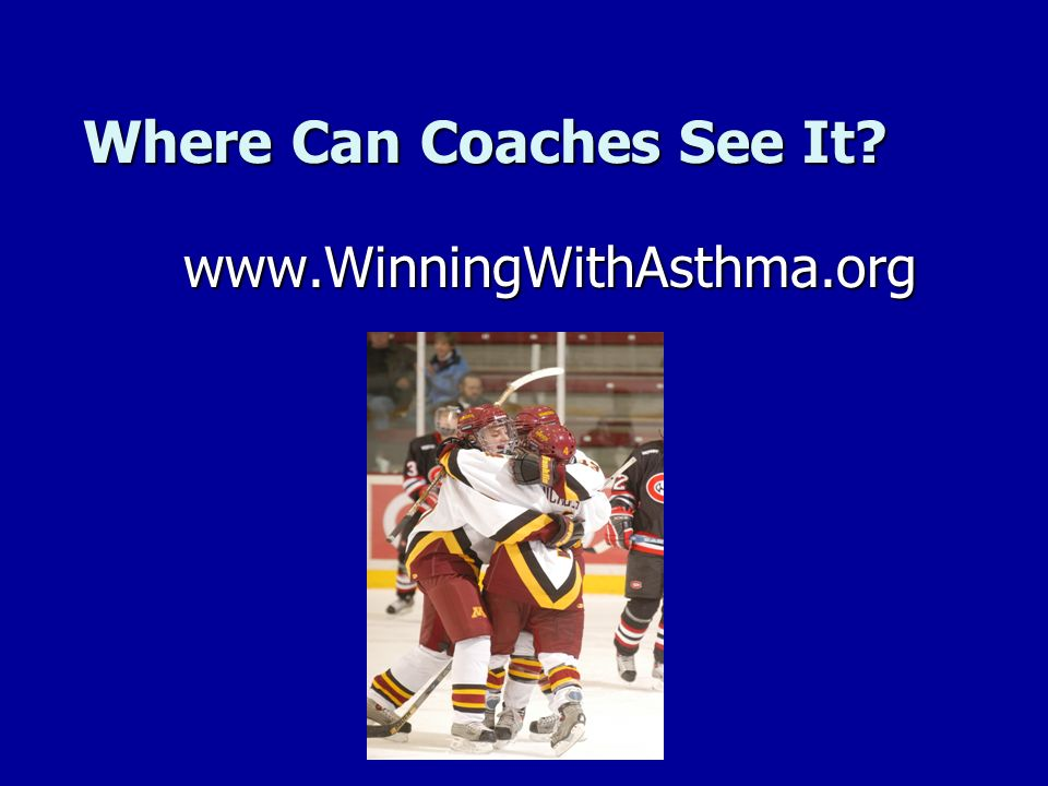 Where Can Coaches See It
