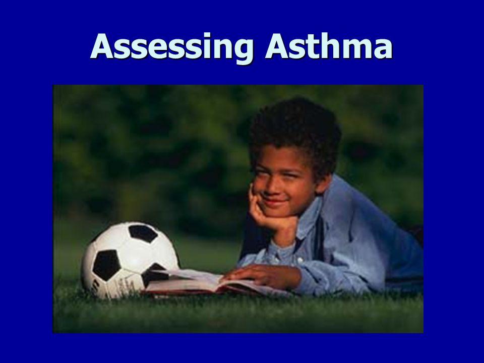 Assessing Asthma Assessing Asthma