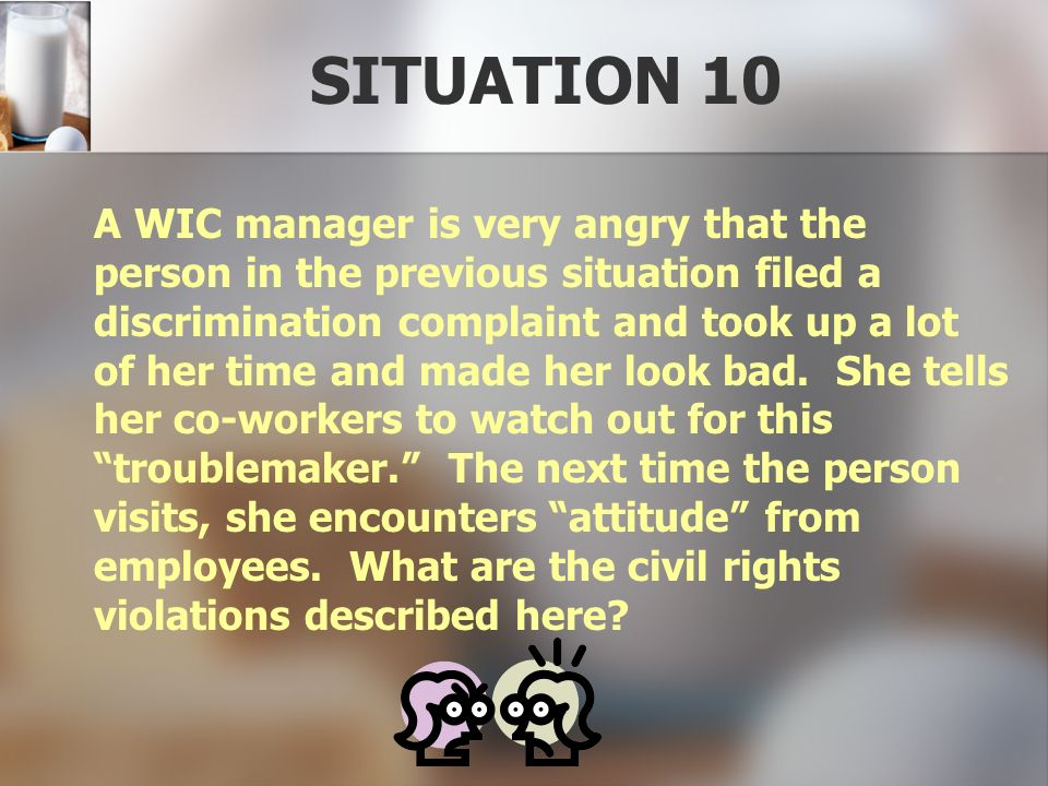 SITUATION 10