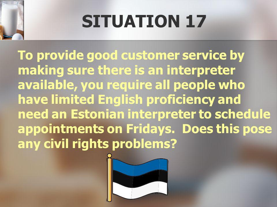 SITUATION 17