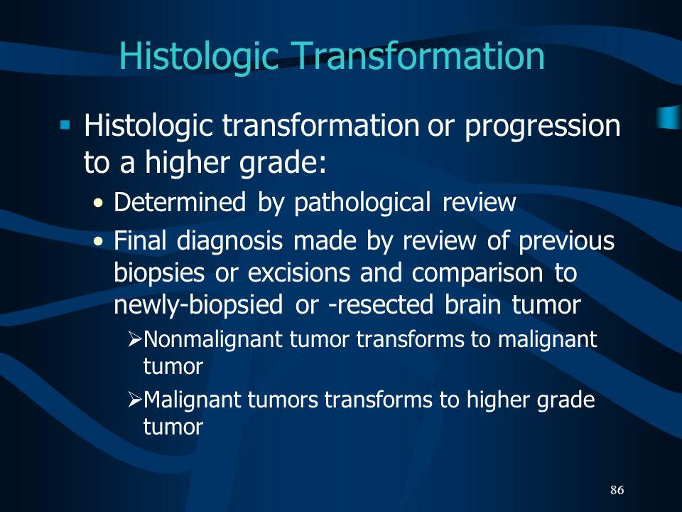 Histologic Transformation