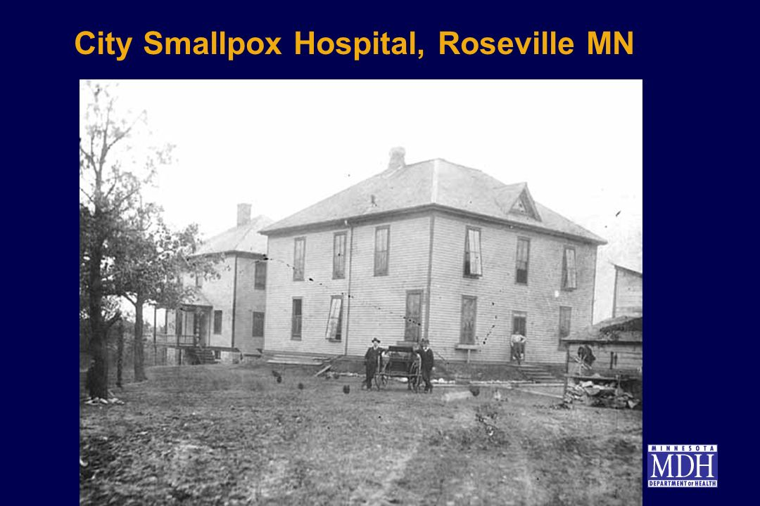 City Smallpox Hospital, Roseville MN