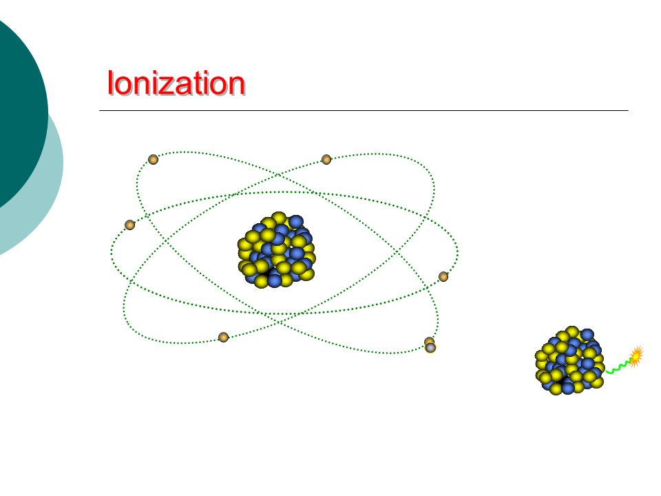 Ionization _____________ that are ejected from orbit may cause additional ionization.