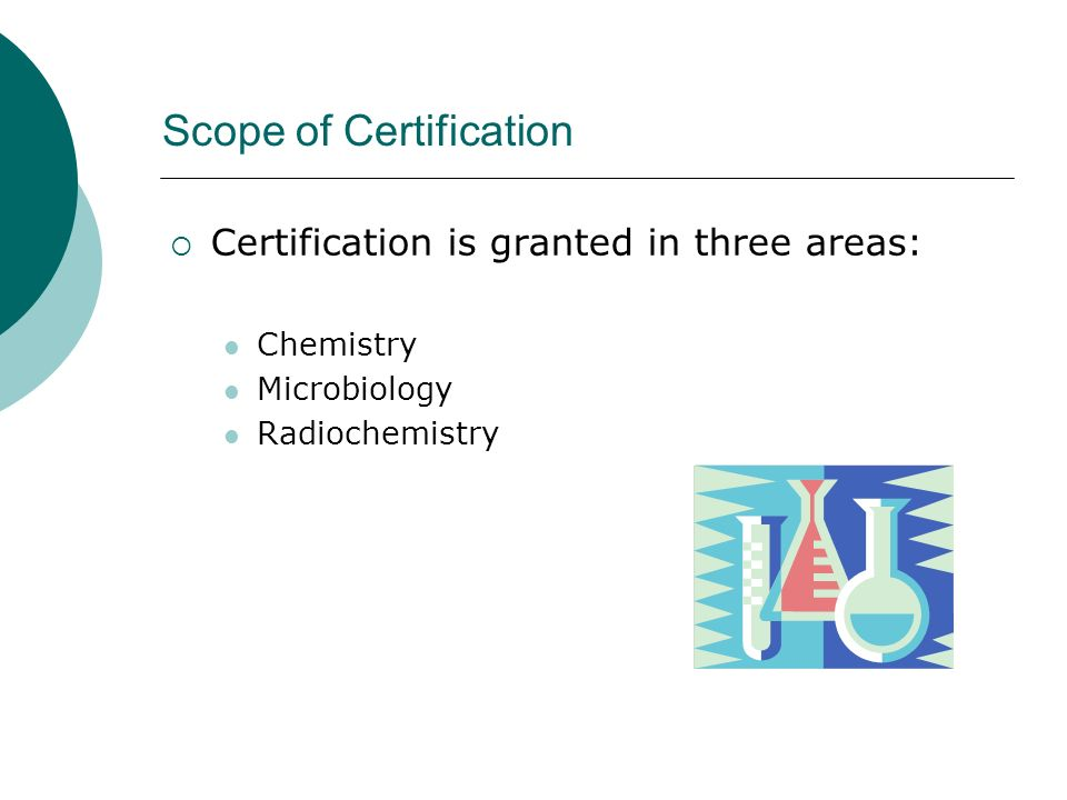 Scope of Certification