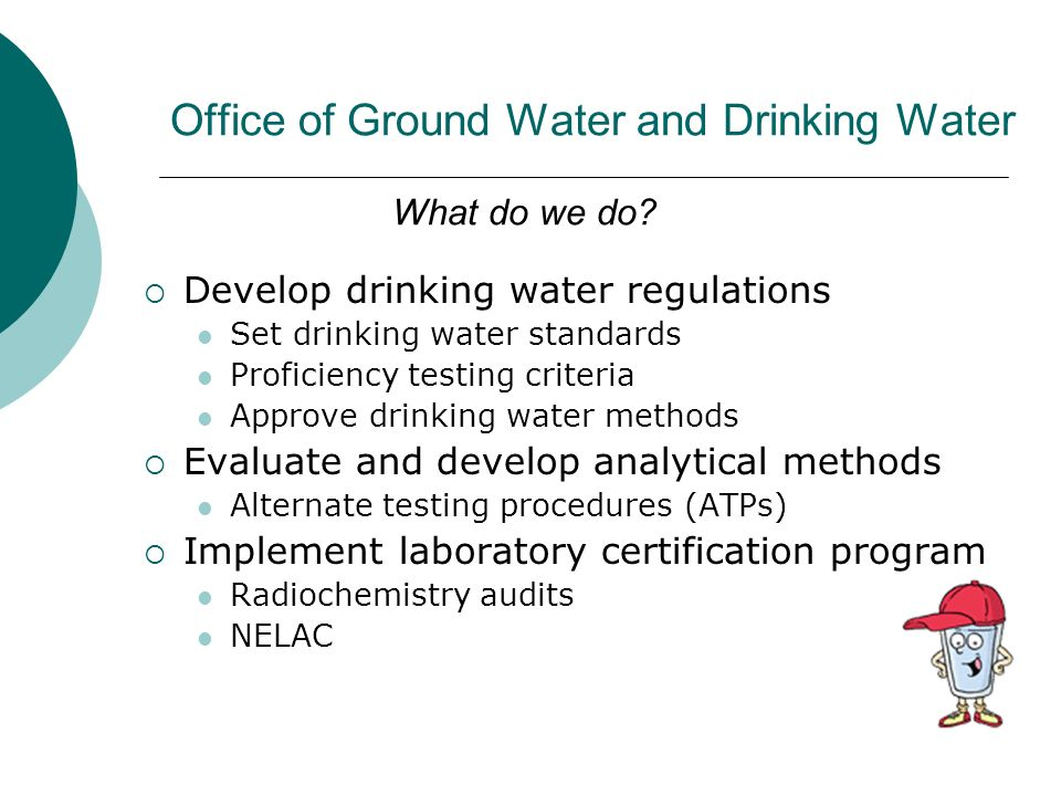 Office of Ground Water and Drinking Water