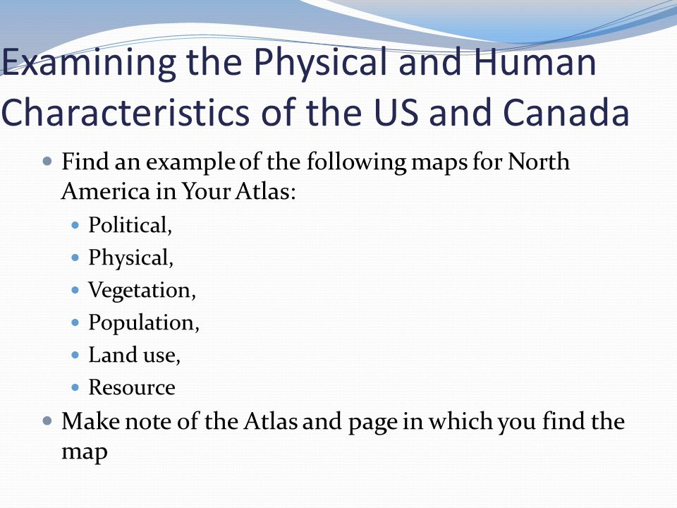 The United States And Canada Ppt Video Online Download - Physical characteristics of canada
