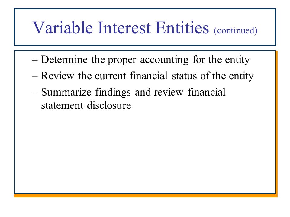 variable interest entities First, i am going to very briefly disucss variable interest entities (vie) and how  they are typically used in china vies are corporate structures.
