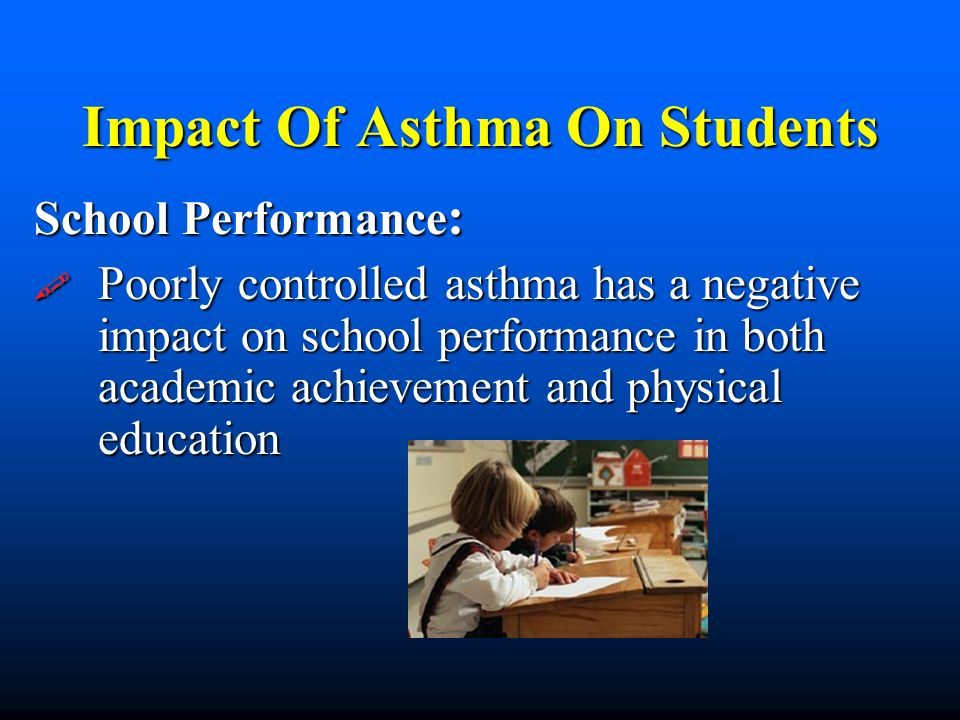 Impact Of Asthma On Students