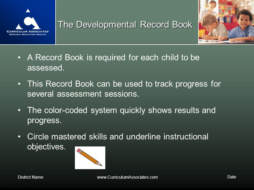 The Developmental Record Book