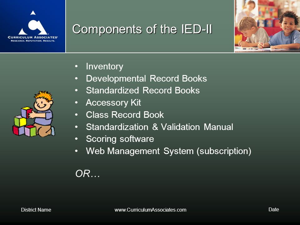 Components of the IED-II