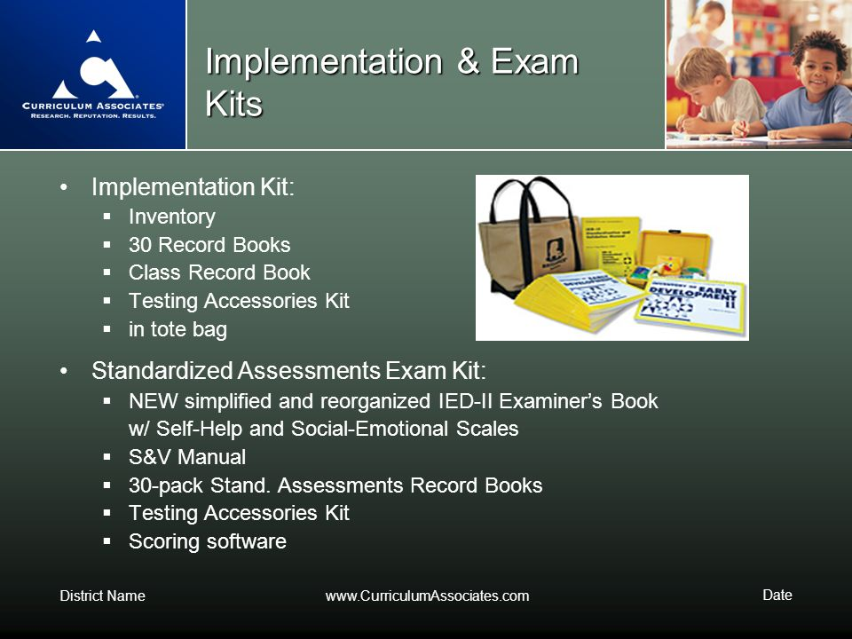 Implementation & Exam Kits