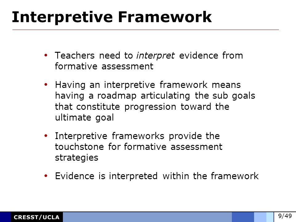 Interpretive Framework