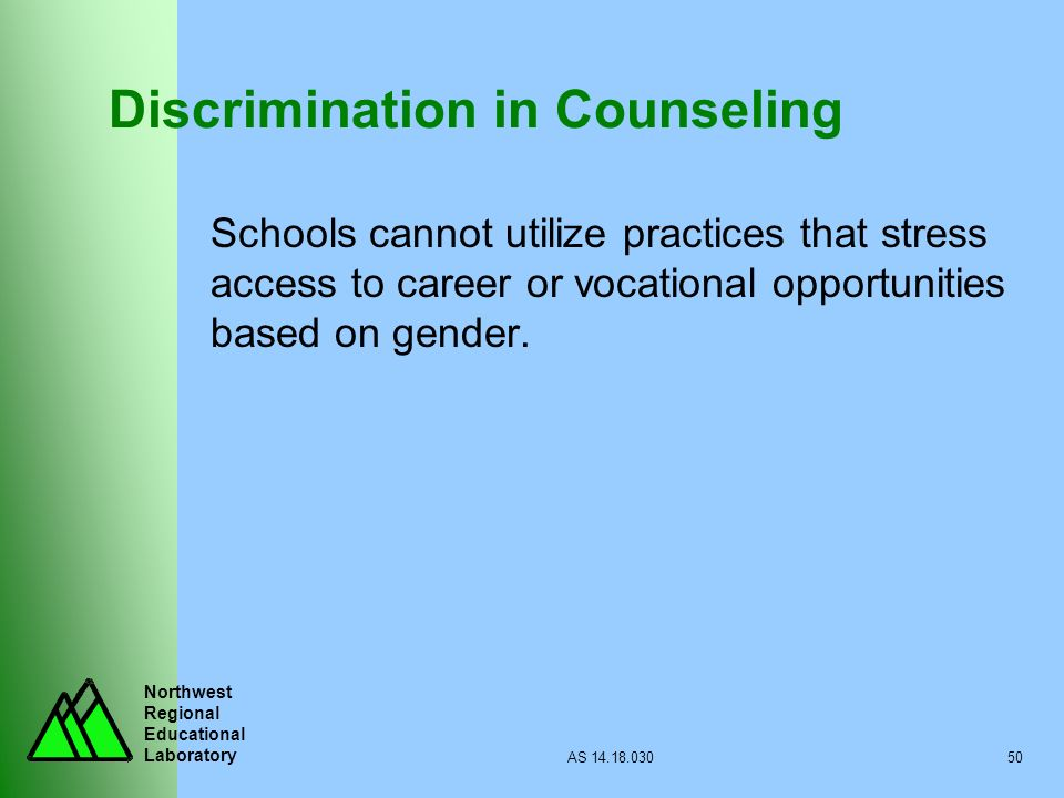 Discrimination in Counseling