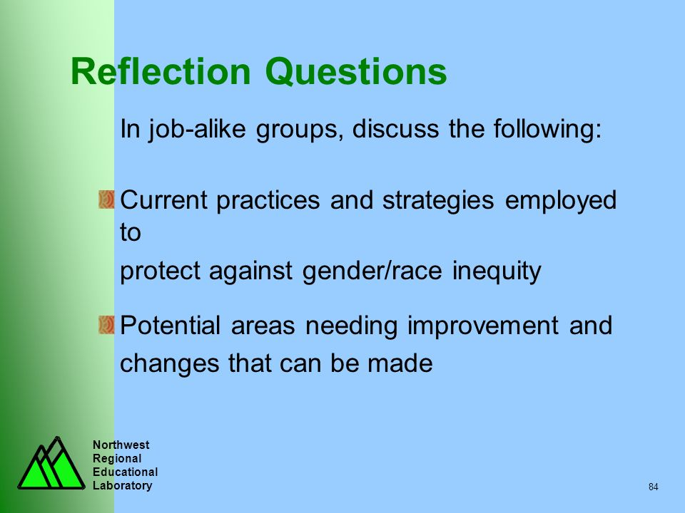 Reflection Questions Current practices and strategies employed to