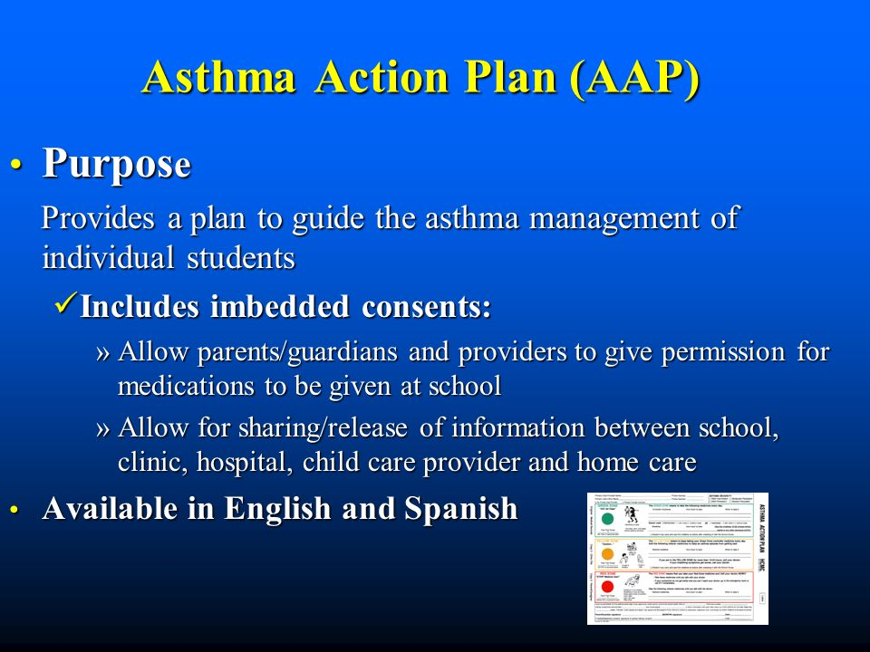 Asthma Action Plan (AAP)